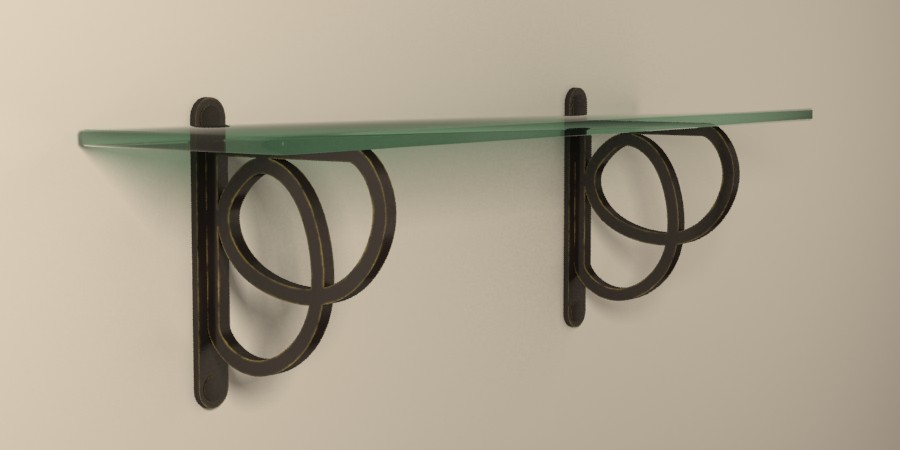 Unusual Shelf Brackets Wholesale Wrought Iron & Decorative Shelving Brackets  Gaby's Shoppe